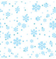christmas snowflakes network seamless pattern vector image vector image