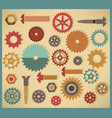 cog icons vector image