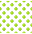 Tennis ball pattern cartoon style vector image vector image