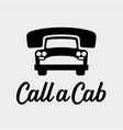 Call a cab taxi service icon