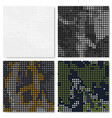 Dot seamless pattern set