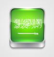 flag of saudi arabia vector image vector image