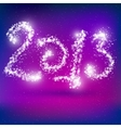 Happy New Year 2013 Greeting Card vector image