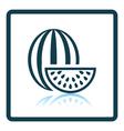 Icon of Watermelon vector image vector image