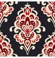 Luxury Damask flower pattern vector image vector image