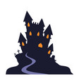 vampire castle vector image