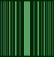 vertical dark and light green stripes print vector image vector image