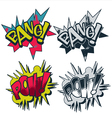 Bang pow comic style graphic vector | Price: 1 Credit (USD $1)