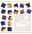 Jigsaw Puzzle game for Children vector image vector image