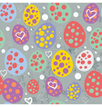 new school easter seamless pattern vector image