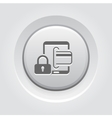 Secure Transactions Icon vector image vector image