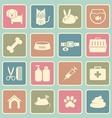 veterinary icon vector image vector image