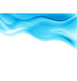 Blue smooth waves design vector | Price: 1 Credit (USD $1)