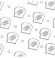 bread background design vector image