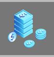 dollar american currency vector image vector image