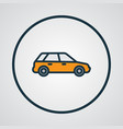 station wagon colorful outline symbol premium vector image vector image