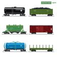 Essential Trains vector image