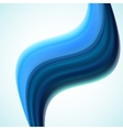 Abstract colorful waves vector image