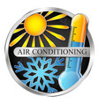 air conditioning and heating system symbol