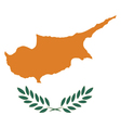 Cyprus Flag vector image vector image