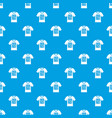 electronic t-shirt pattern seamless blue vector image vector image