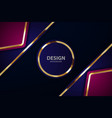 gold abstract background board for text vector image vector image