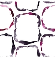 grunge watercolor frames seamless pattern vector image