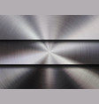 metal textured technology background vector image