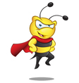 Super Bee Hands On Hips vector image