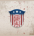 usa independence day grunge background vector image vector image