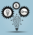 Idea business vector image