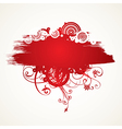 7floral line 25 1 vector image vector image