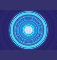 abstract blue light circle energy power vector image