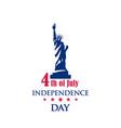 american national holiday 4th july vector image vector image