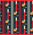 city streets flying seamless pattern vector image vector image