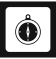 Compass icon simple style vector image vector image