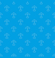 direction sign pattern seamless blue vector image vector image