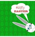 Easter Bunny White Rabbit vector image