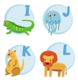 Funny cartoon alphabet