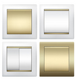 light switches vector image vector image