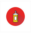 spray icon on white background vector image