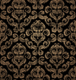 decorative seamless vintage ornament vector image