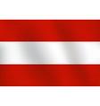 flag of austria - vector image