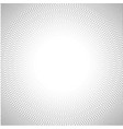 background of dots in the corners vector image