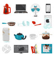 broken appliance damaged homeappliances or vector image vector image