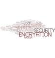 encryption word cloud concept