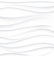 grey wavy lines on white backgroundabstract vector image