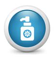 hand wash glossy icon vector image vector image