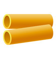 kanelone pasta icon realistic style vector image vector image