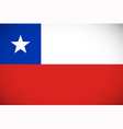 National flag of Chile vector image